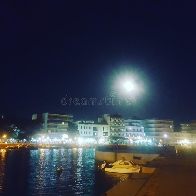 Port de Le Pirée image libre de droits