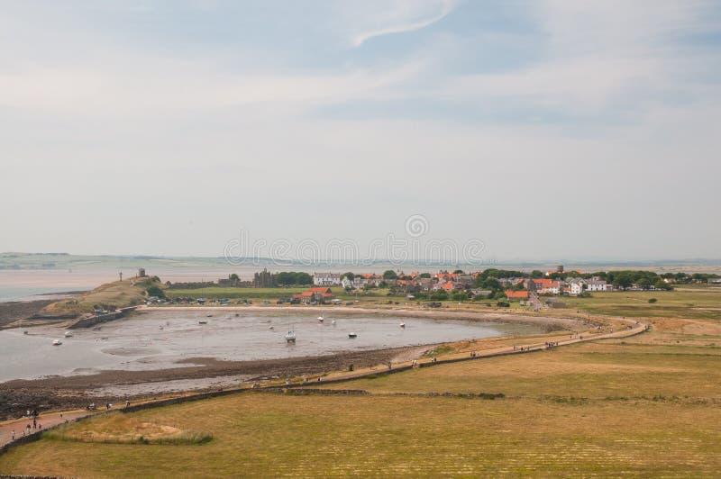 Port de Lindisfarne image stock