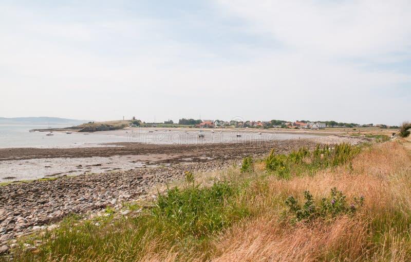 Port de Lindisfarne photos stock