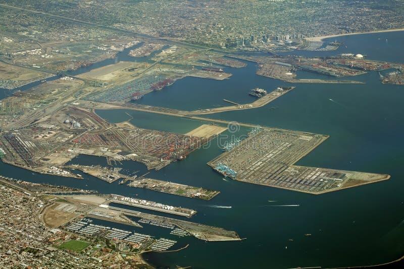 Port de Long Beach photo libre de droits