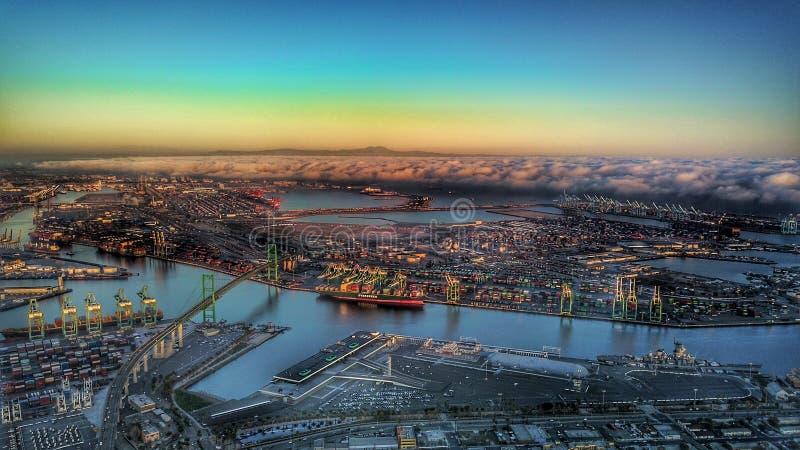Port de Los Angeles photo libre de droits