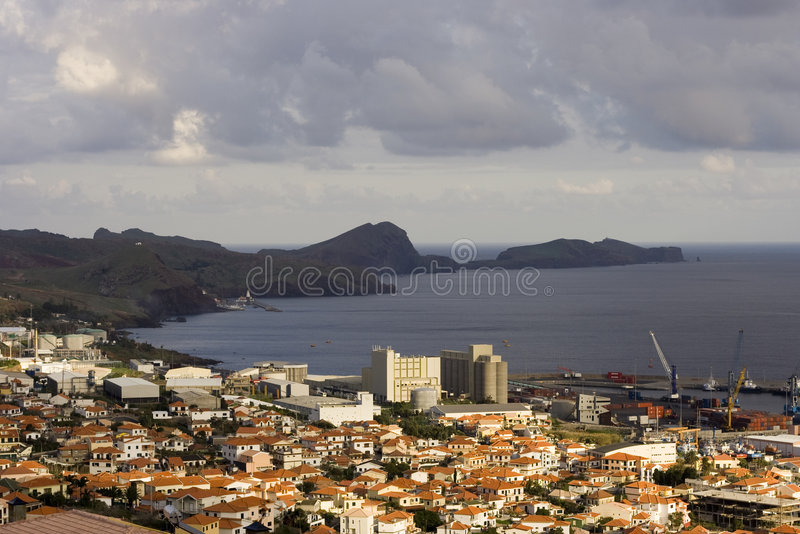 Port De Machico Image stock