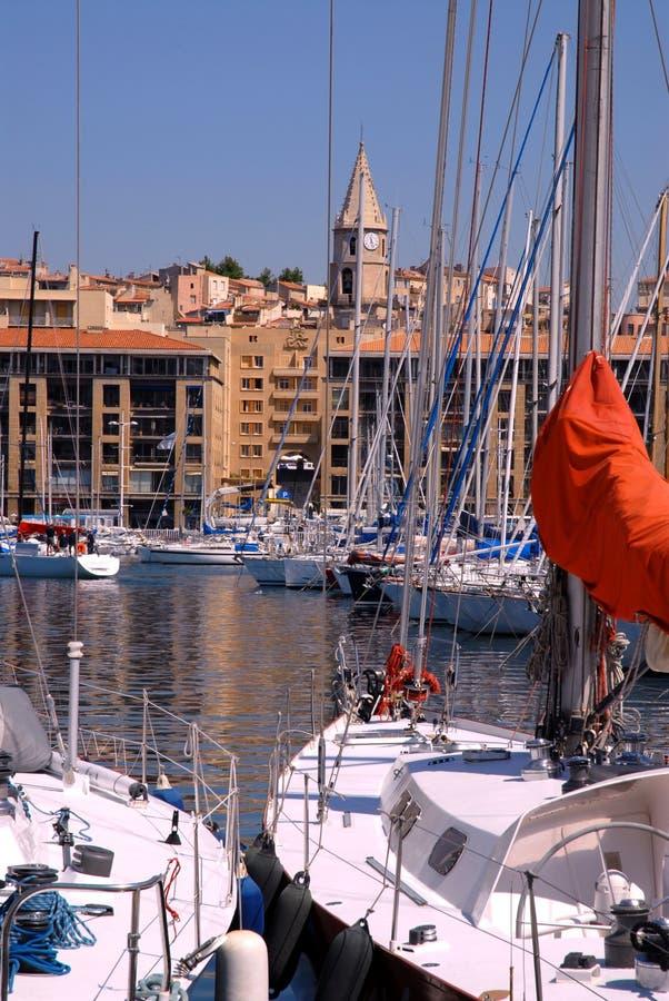 Port de Marseille stock photos