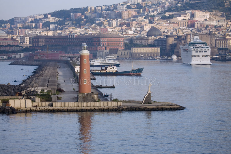 Port de Naples photographie stock