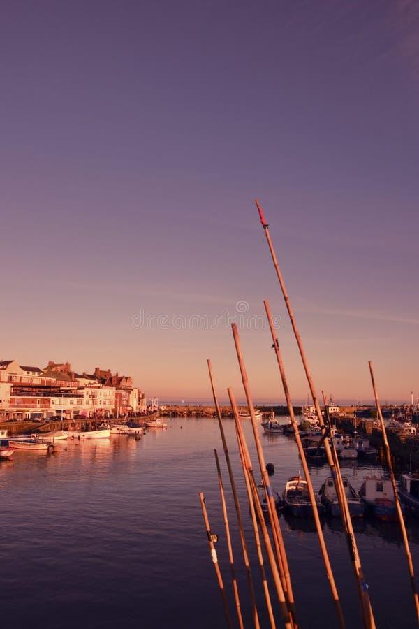 Port de pêche photo libre de droits