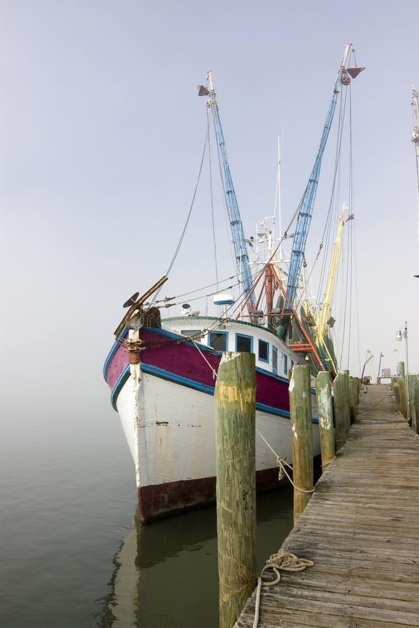 port de pêche de bateau photo libre de droits