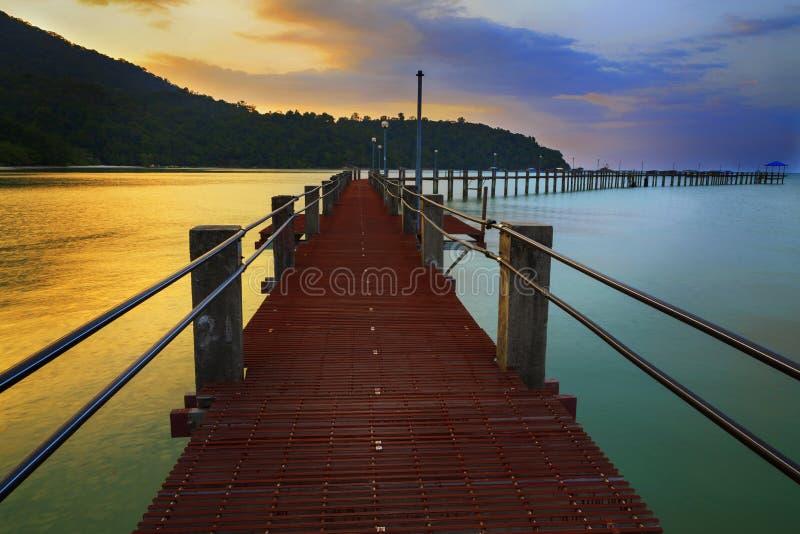 Download Port de Penang photo stock. Image du projectile, plage - 45358612