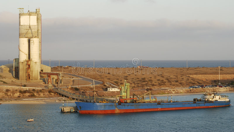 Port de Pichilingue image libre de droits
