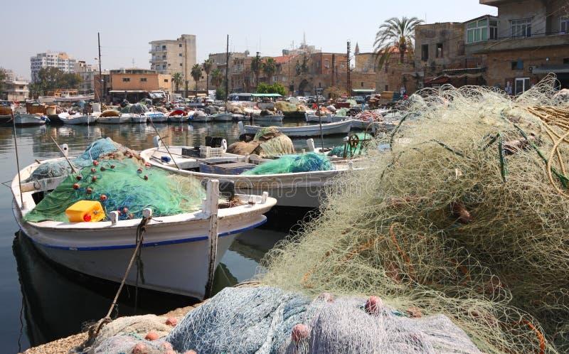 Port de pneu, Liban image libre de droits