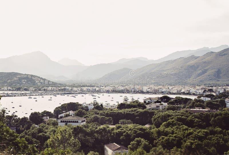 Port de Pollenca 库存图片