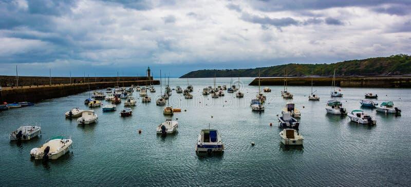Port DE Pordic stock foto