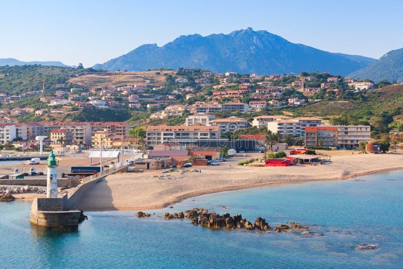 Port de Propriano, Corse du sud, France images stock
