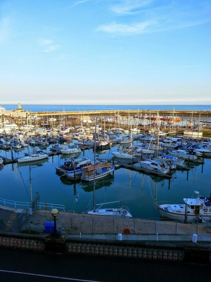 Port de Ramsgate dans Kent photo libre de droits