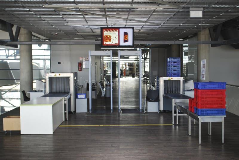 Sécurité dans les aéroports photographie stock libre de droits