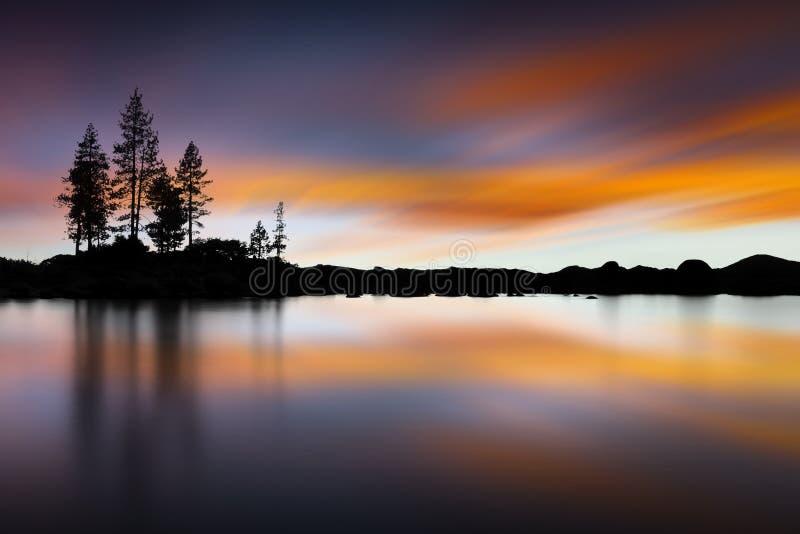 Port de sable, le lac Tahoe, Nevada, Etats-Unis photo libre de droits