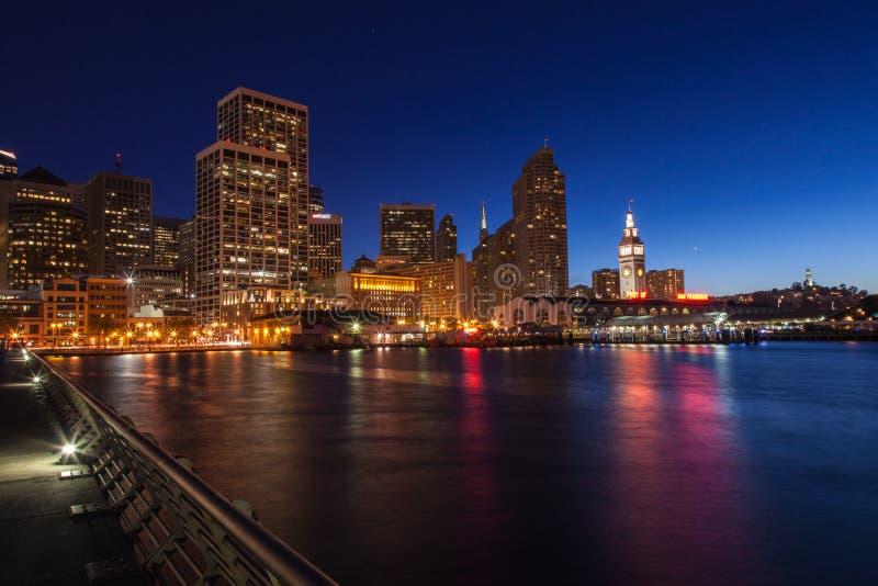 Port de San Francisco image libre de droits