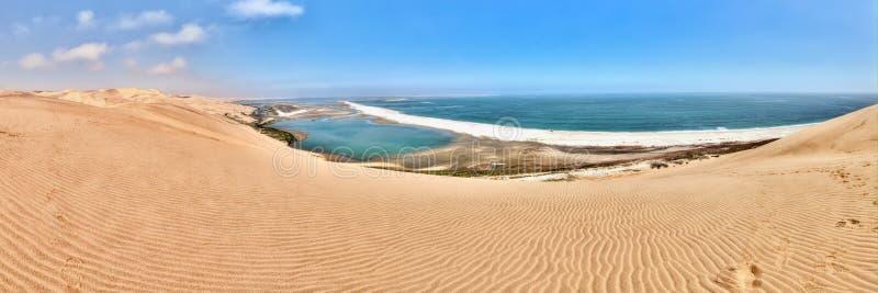 Port de sandwich en Namibie image stock