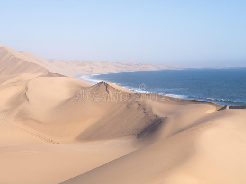 Port de sandwich, Namibie photographie stock libre de droits
