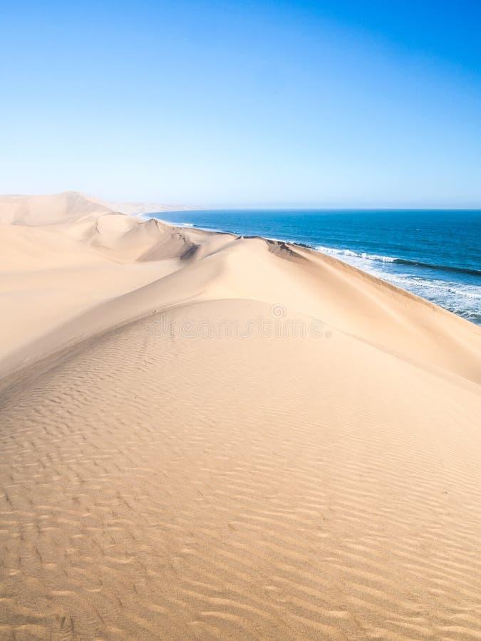 Port de sandwich, Namibie images stock