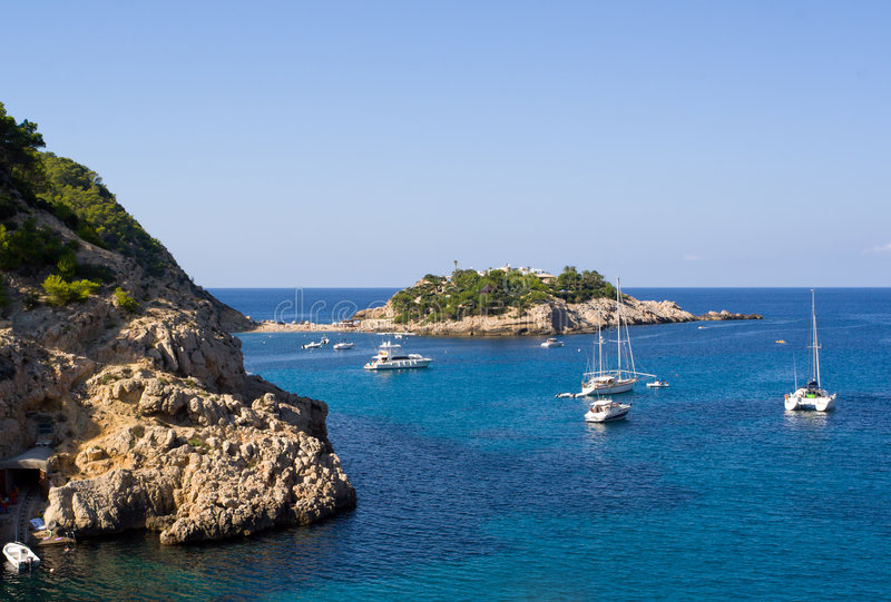 Port de Sant Miguel, Ibiza photo stock