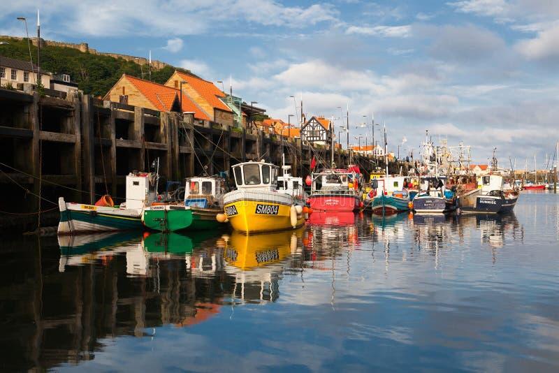 Port de Scarborough photographie stock libre de droits
