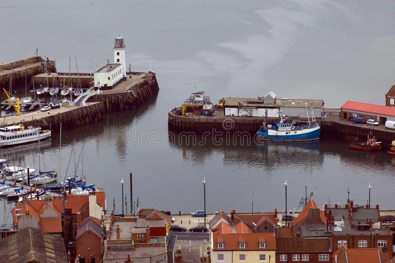 Port de Scarborough images libres de droits