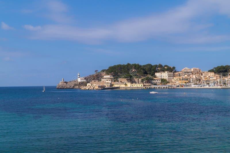 Port de Sollèr, Maiorca fotografia stock