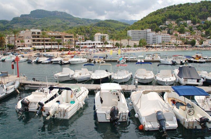 Port de Soller, Majorca royalty free stock images