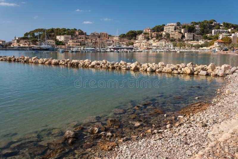 Port de Soller, Majorca stock images