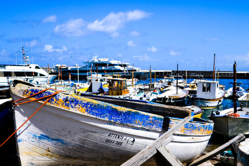 Port de Sorrento, Italie photo stock