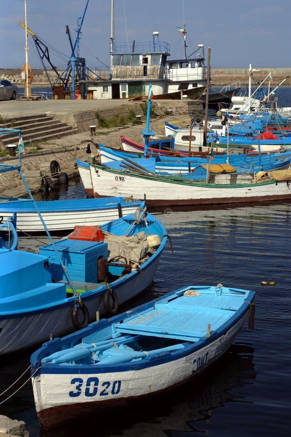 Port de Sozopol photos libres de droits