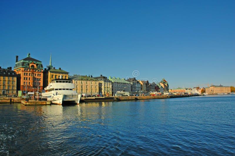Port de Stockholm photos stock