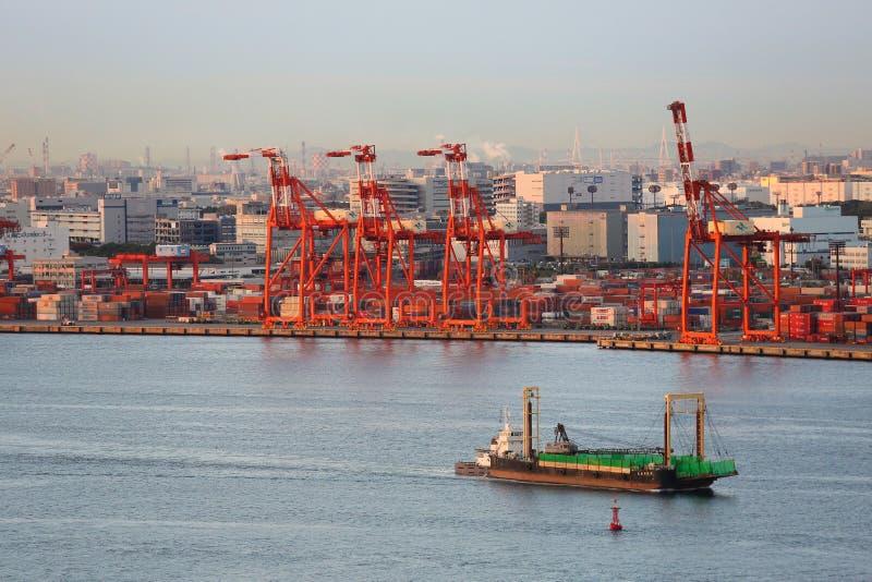 Port de Tokyo photographie stock