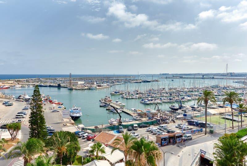 Port de Torrevieja photographie stock libre de droits