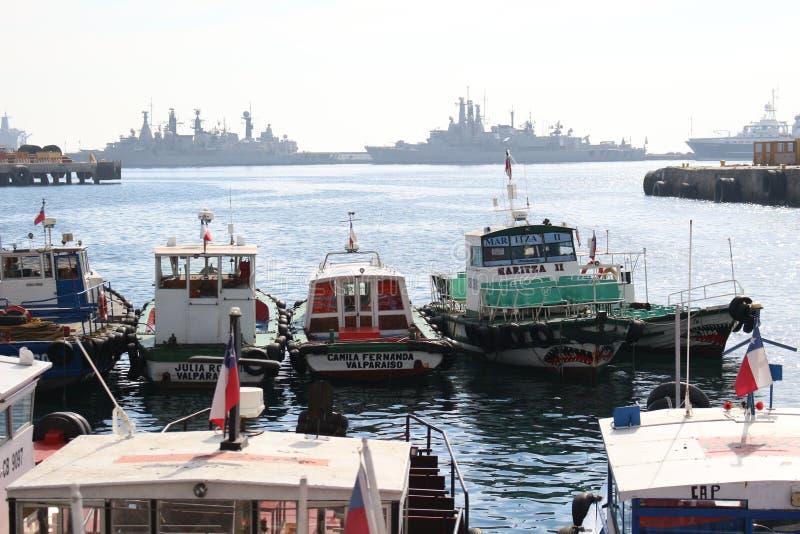 Port de ValparaÃso photographie stock libre de droits