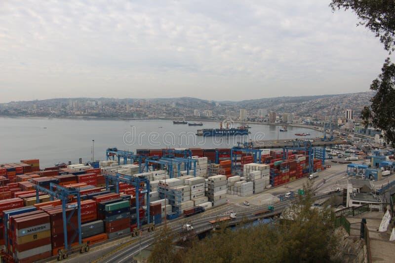 Port de ValparaÃso images stock
