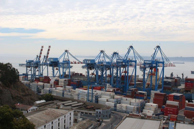 Port de ValparaÃso photos libres de droits