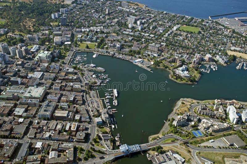 Port de Victoria, île de Vancouver, Canada photo libre de droits