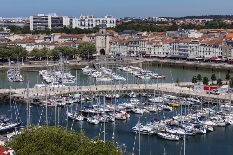 Port de Vieux de La Rochelle - France photo libre de droits