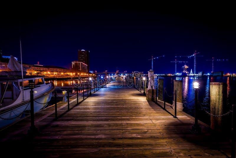 Port de ville photographie stock libre de droits