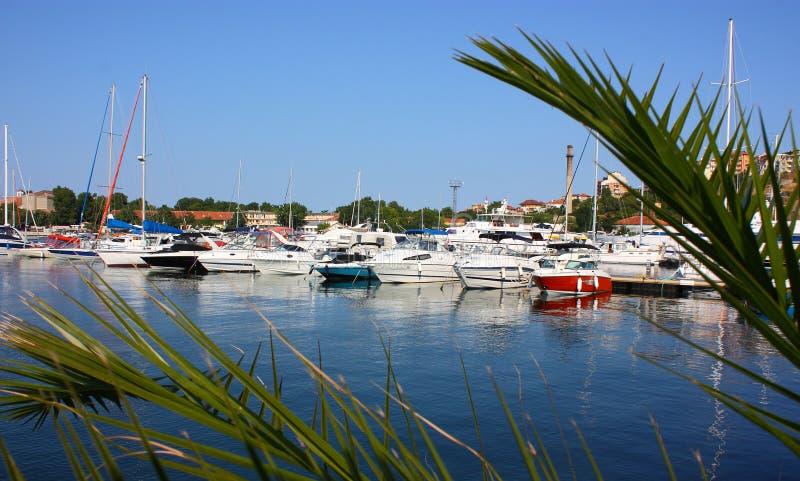 Port de yacht photos libres de droits