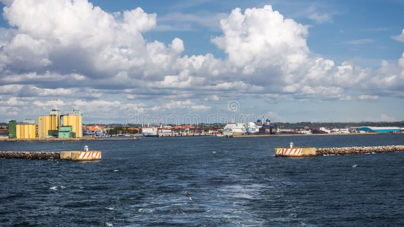 Port de Ystad photographie stock