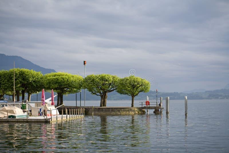 Port de Zug photo libre de droits