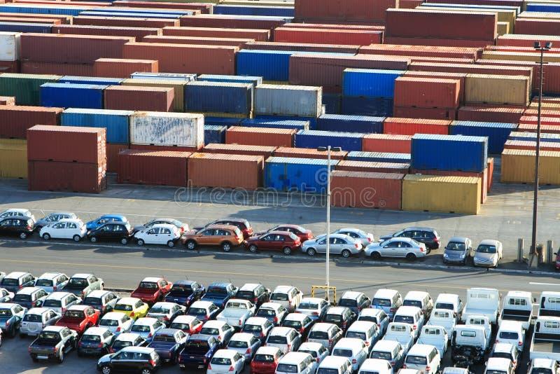 Port des Caraïbes photographie stock