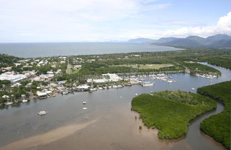 Port Douglas, weites Nordqueensland lizenzfreie stockfotos