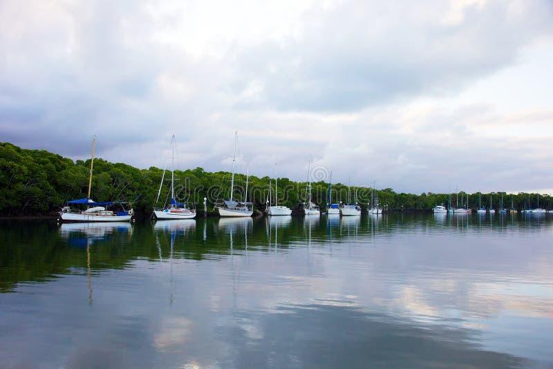Port- Douglasflusslandschaft lizenzfreie stockfotografie