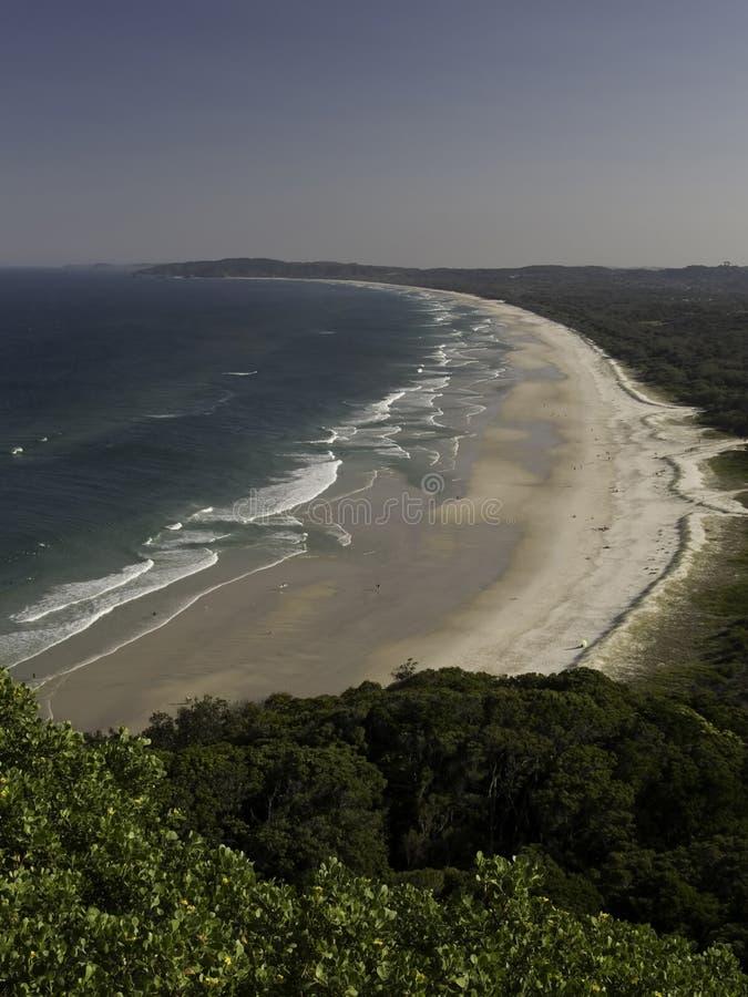 Port- Douglasküste stockfoto