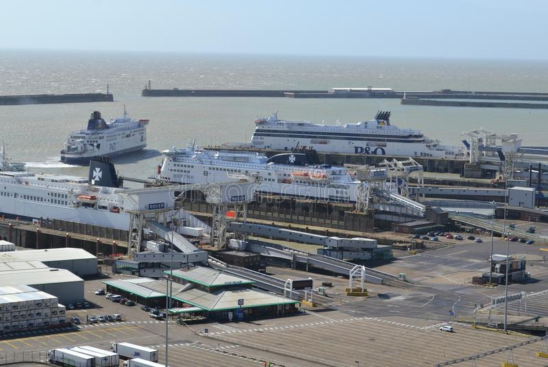 Port Dover England image libre de droits