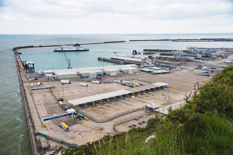 Port of Dover royalty free stock photo