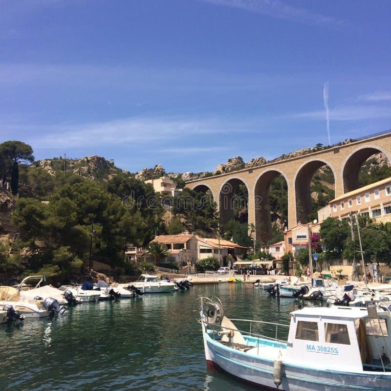 Port du MA©jeann/马赛& x28; France& x29; 免版税库存照片